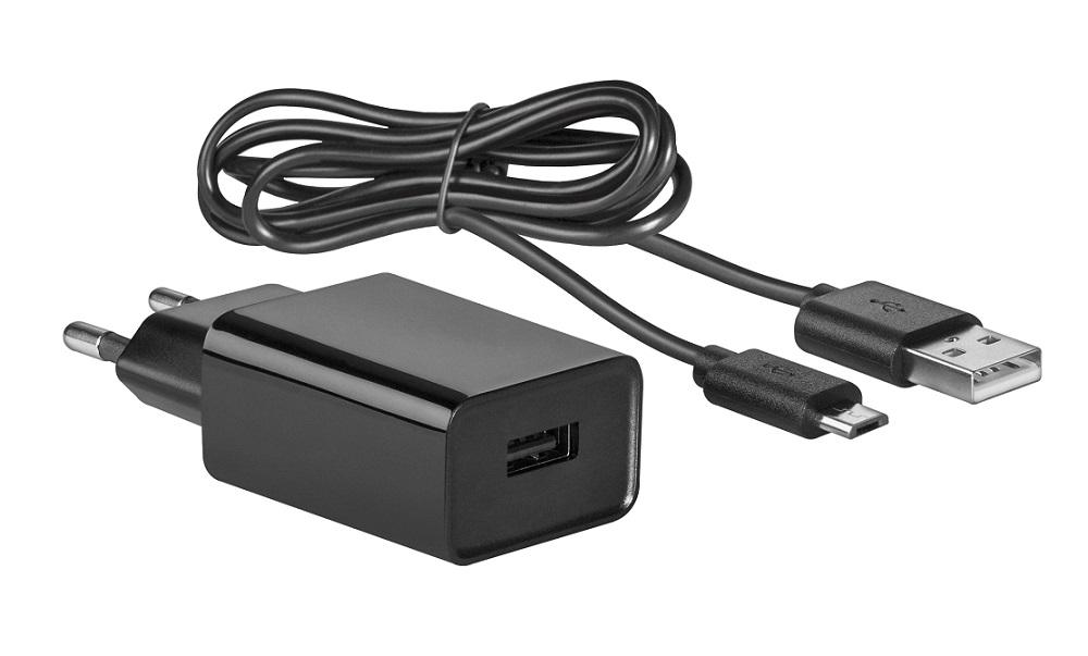 Фото - Сетевое зарядное устройство Defender UPC-20 1 порт USB, 5V / 2А, кабель беспроводное зарядное устройство a data cw0100 2а microusb белый acw0100 1c 5v cwh