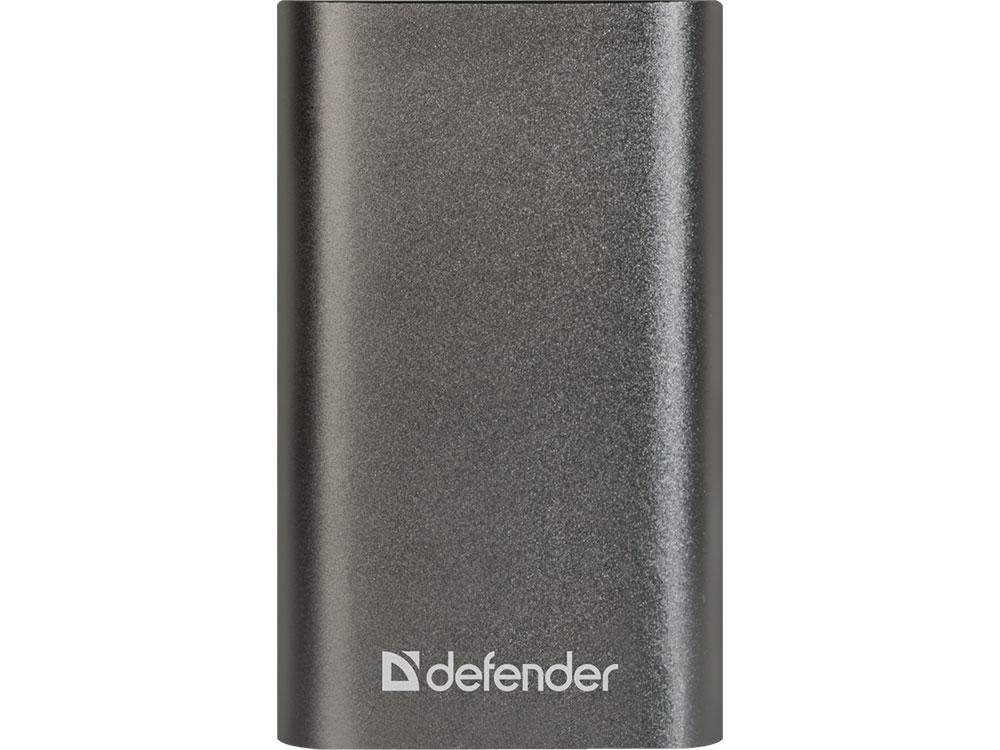 Defender Внешний аккумулятор Lavita 6000B 1 USB, 6000 mAh, 2.1 A (83616) внешний аккумулятор defender lavita 6000b 1 usb 6000 mah 2 1 a