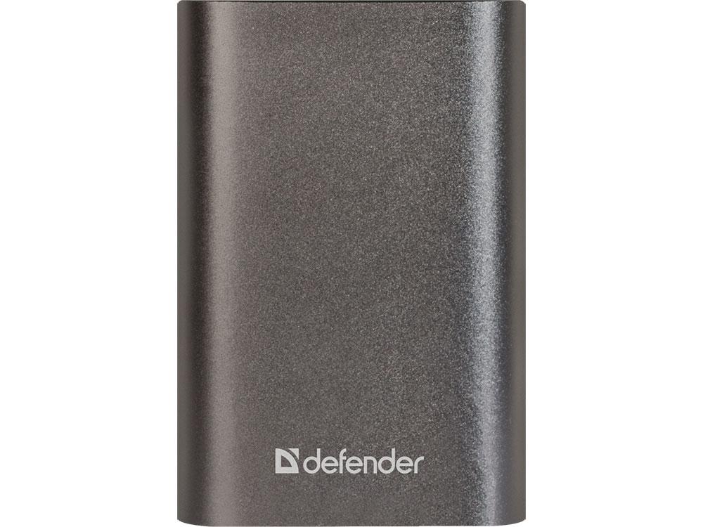 Defender Внешний аккумулятор Lavita Fast 6000B 2*USB+1*Type-C, 6000 mAh, 3A (83625) внешний аккумулятор defender lavita 6000b 1 usb 6000 mah 2 1 a