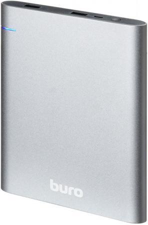 Фото - Внешний аккумулятор Power Bank 21000 мАч BURO RCL-21000 темно-серый внешний аккумулятор power bank 10000 мач cyberpower cp10000peg белый