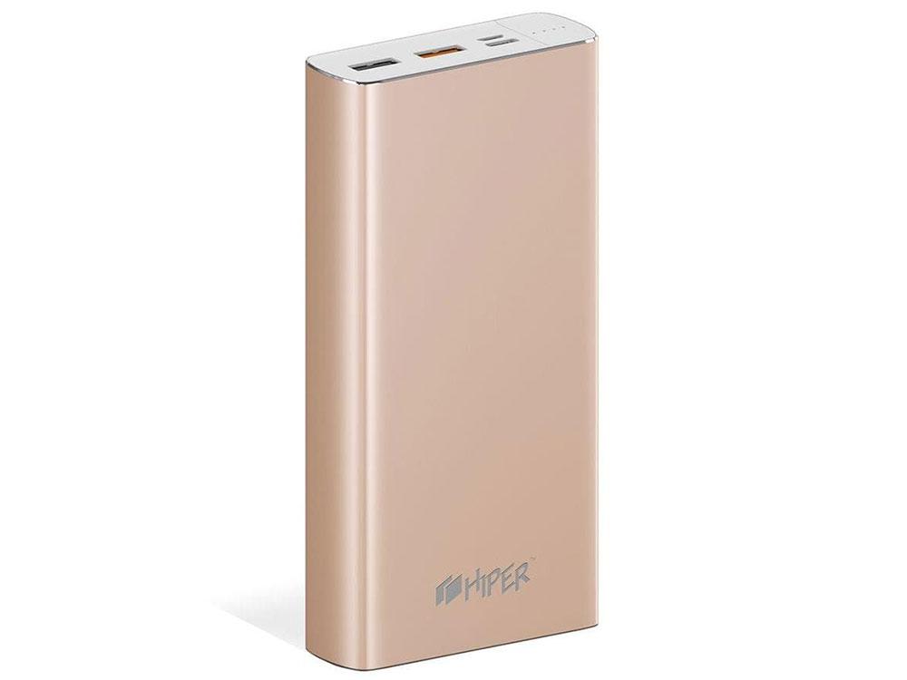 Аккумулятор HIPER Внешний аккумулятор HIPER MPX20000 GOLD цена