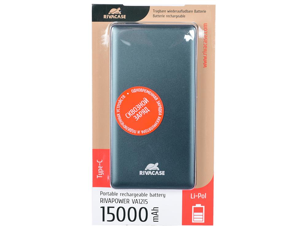 лучшая цена Внешний аккумулятор RIVAPOWER VA1215 (15000mAh)
