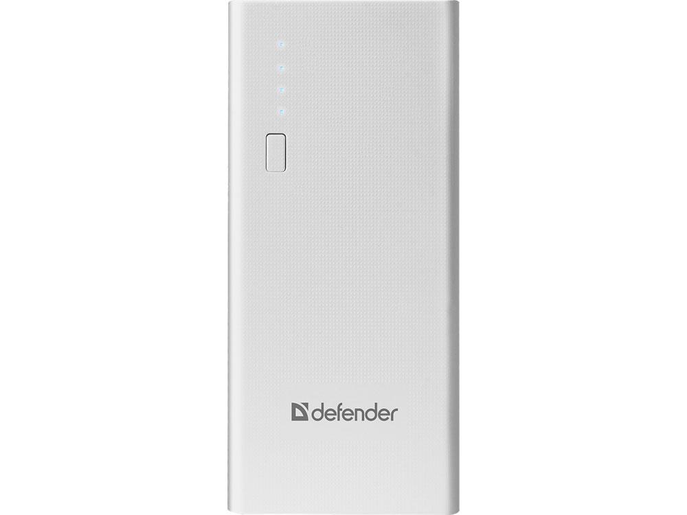 Defender Внешний аккумулятор Lavita 10000E 3 USB, 10000 mAh, 2.1A (83647) внешний аккумулятор defender lavita 6000b 1 usb 6000 mah 2 1 a