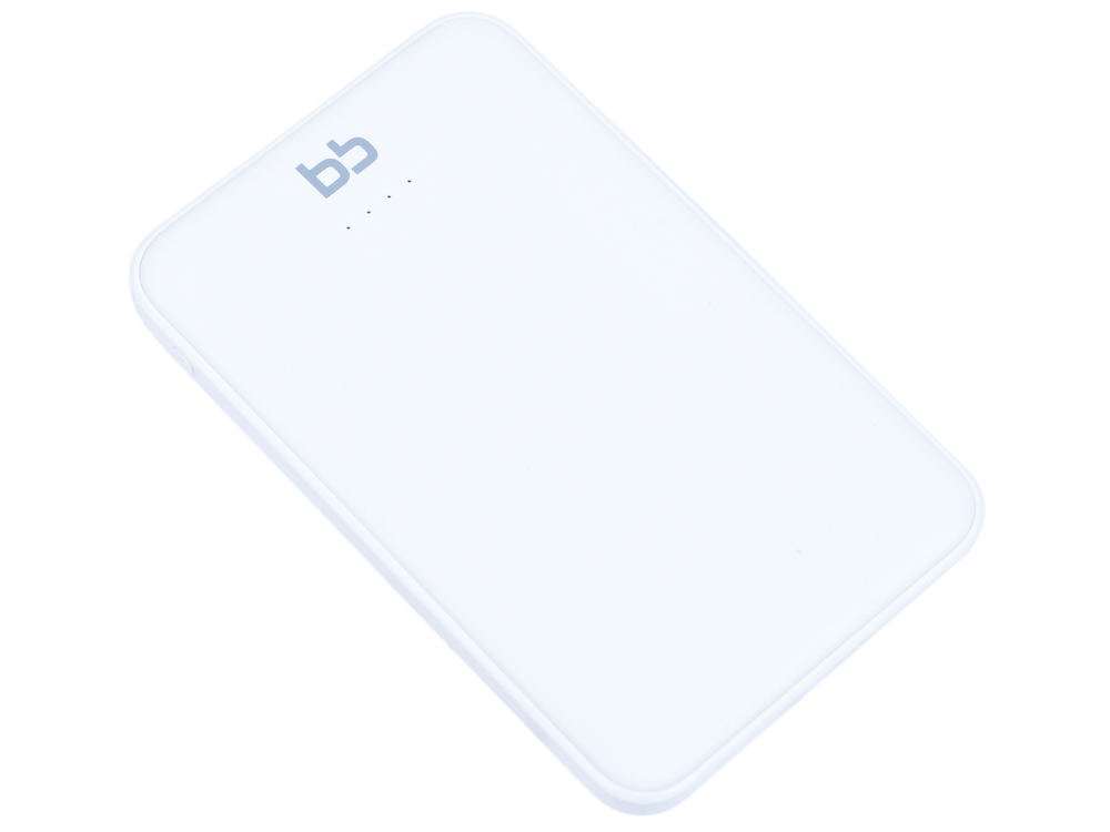 Внешний аккумулятор BB 5000 мАч, 2USB, 2A, Li-pol, белый, 007-001 цены онлайн