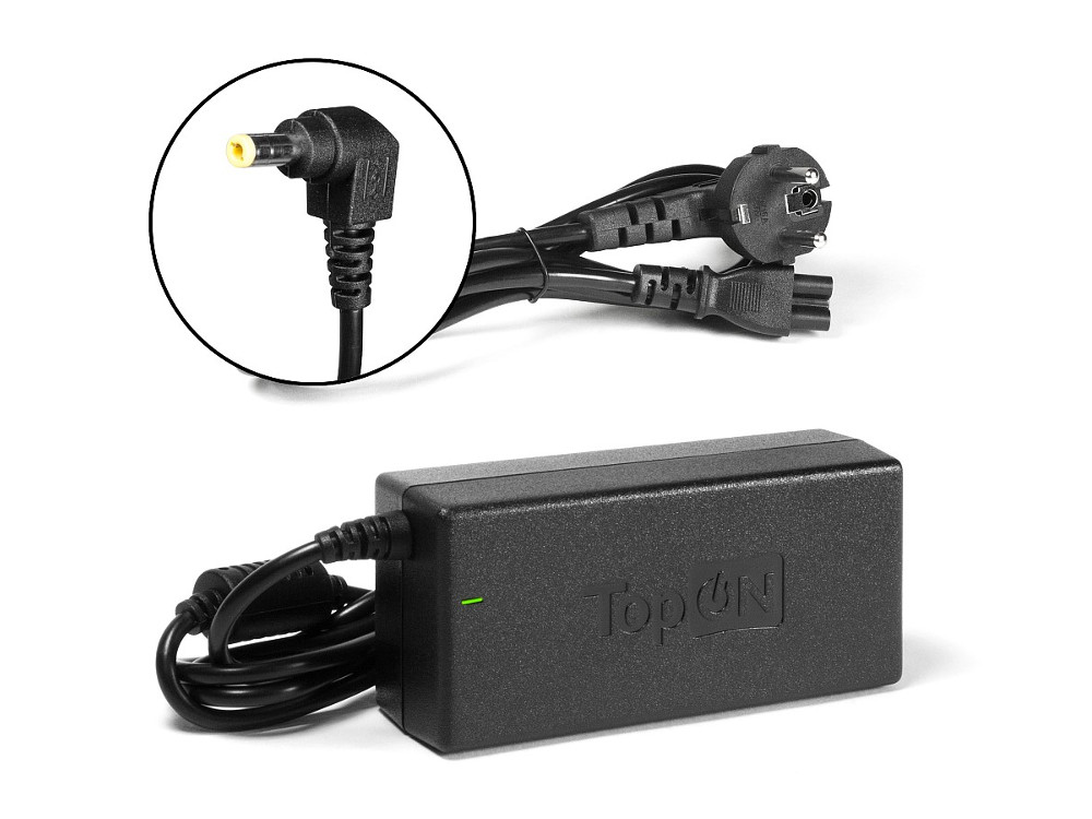 Зарядное устройство для ноутбука TopON TOP-AC02 Asus UL80, UX50, K50, K95 Series. 19V 3.42A 65W. Коннектор 5,5 на 2,5 мм. колпак diffusor k50 1