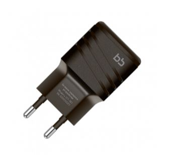 Сетевое зарядное устройство Nobby 9847 черный 2 USB, 2 А зарядное