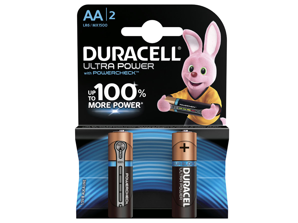 Батарейки Duracell Ultra Power LR6-2BL