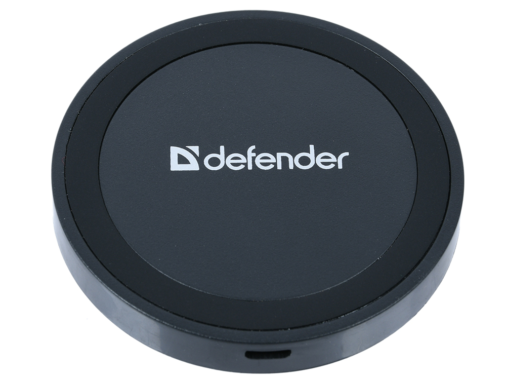 Фото - Зарядное устройство Defender WPL-01 беспроводное, 5В/1А выключатель двухклавишный schneider electric 2 мод unica new с подсветкой 2х сх 1а белый nu521118n
