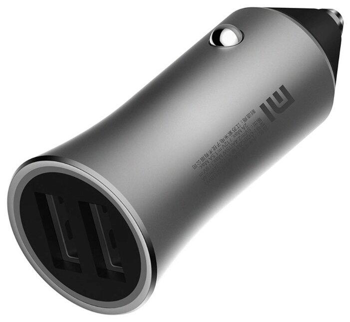 цена на Автомобильное зарядное устройство Xiaomi Mi Car Charger Pro CC05ZM 2 x USB