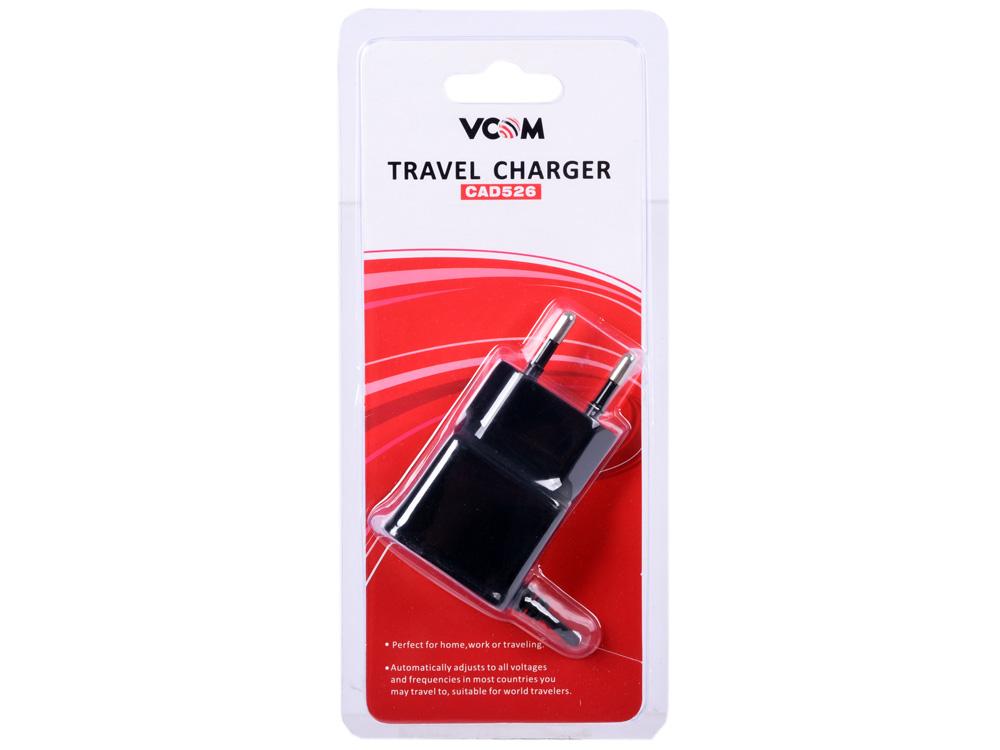 Фото - Зарядное устройство VCOM CAD526 microUSB беспроводное зарядное устройство vcom cad m162