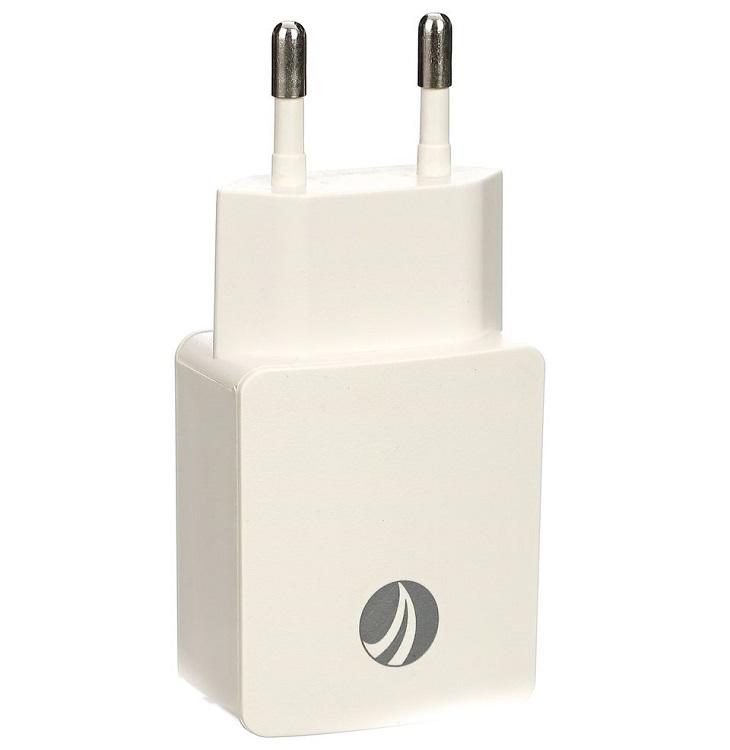 Зарядное устройство AC (EU Plug 100-220V) --> USBx 2 Port ( DC5V, 2A) VCOM <M013/CA-M013>