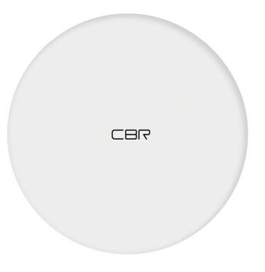 Беспроводное зарядное устройство CWC 155 White стандарт Qi, выход 9 В/1,1 А, мощность 10 Вт, быстрая зарядка