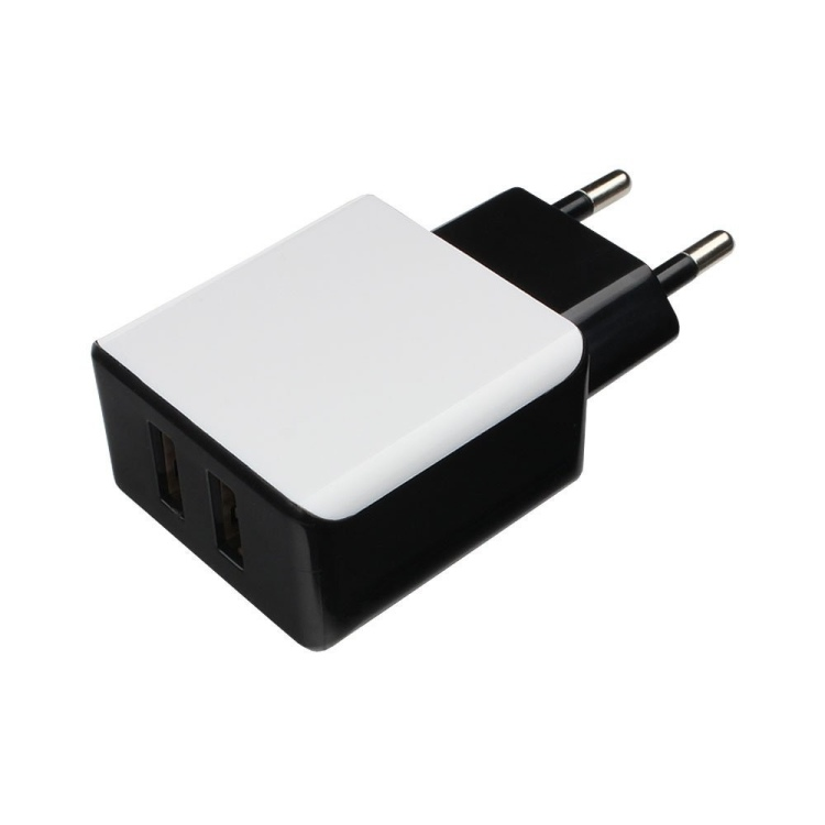 Зарядное устройство Cablexpert MP3A-PC-14 220V - 5V USB 2 порта, 2.1A стоимость