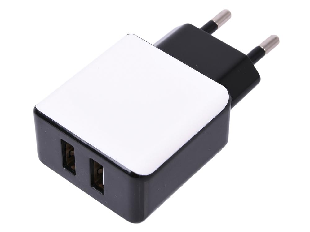 Зарядное устройство Cablexpert MP3A-PC-14 220V - 5V USB 2 порта, 2.1A зарядное устройство 13000mah adapers tablet pc 000005005