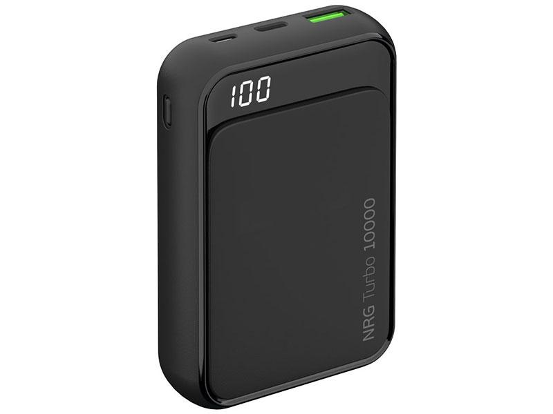 Фото - Внешний аккумулятор Deppa NRG Turbo Compact 10000 мАч QC/PD 3.0 18W, LED экран внешний аккумулятор pb14x black 14000 мач