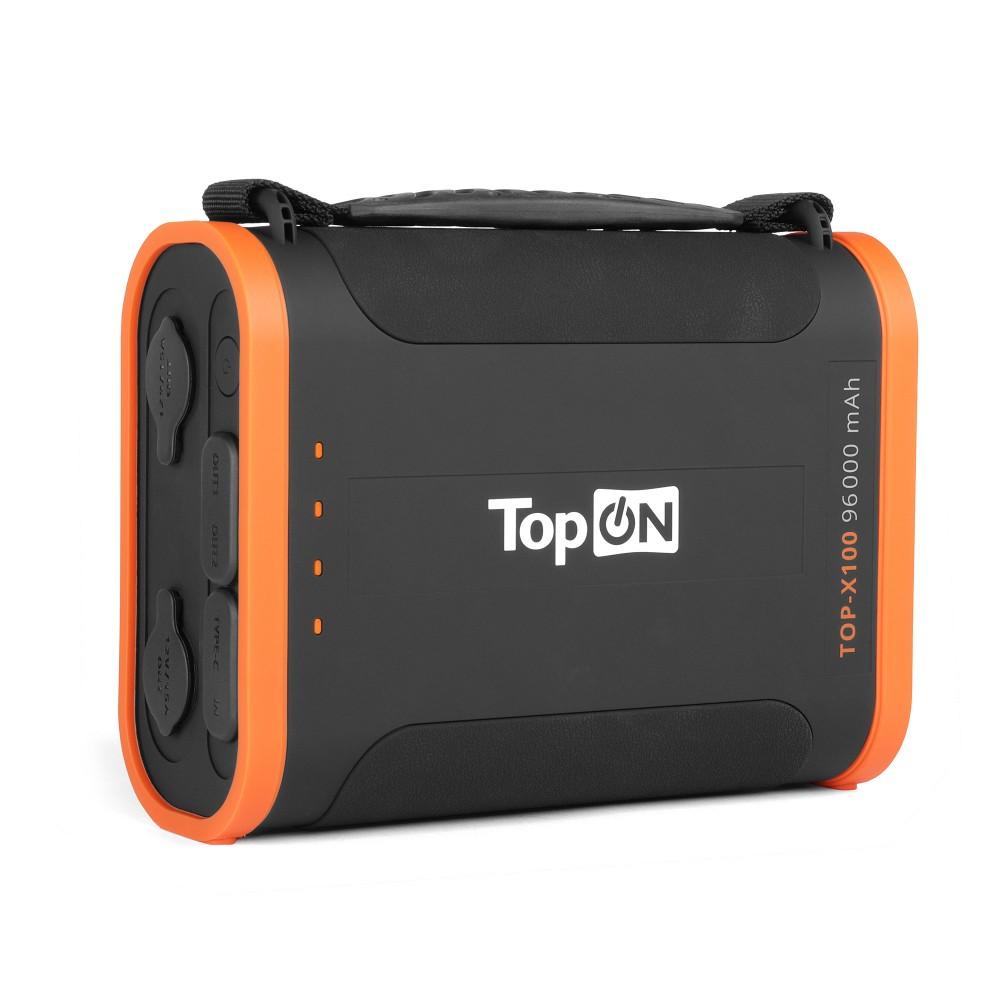 Фото - Универсальный внешний аккумулятор TopON TOP-X100 96000mAh USB-C PD3.0 60W,USB1 QC3.0,USB2 12W,2 авторозетки 180W,фонарь, защита от пыли и брызг.Черный владимир набоков машенька защита лужина приглашение на казнь другие берега