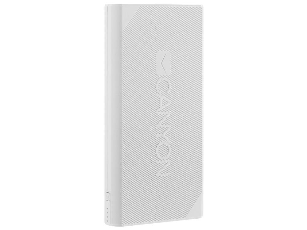 Внешний аккумулятор Canyon CNE-CPBF200W White