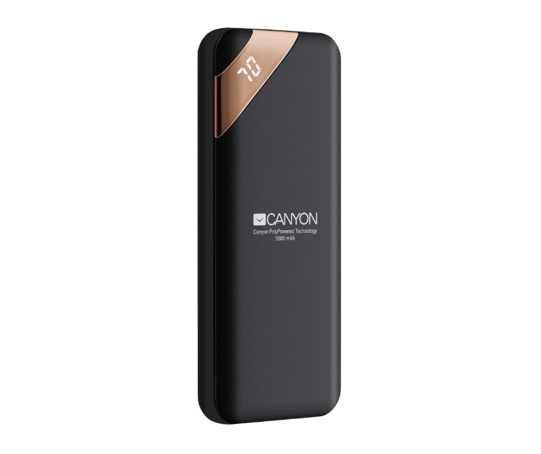 Фото - Внешний аккумулятор Canyon CNE-CPBP5B Black внешний аккумулятор hiper spx10000 black