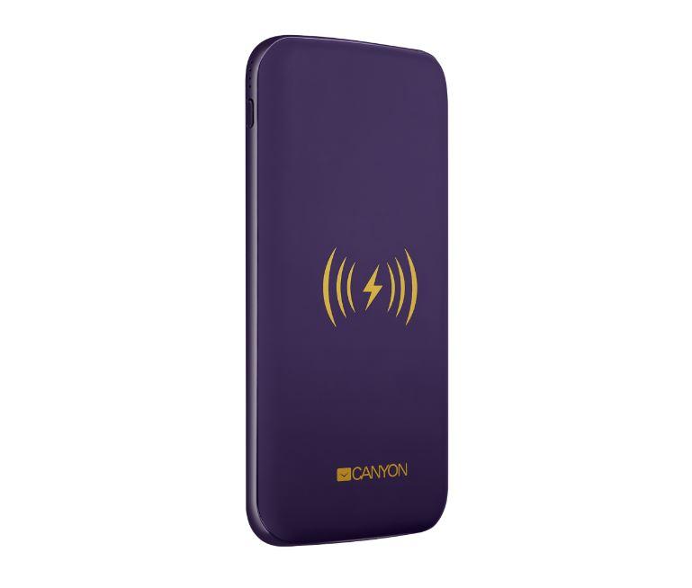 Внешний аккумулятор Canyon CNS-TPBW8P Purple 8000mAh внешний аккумулятор rivapower va2008 8000mah