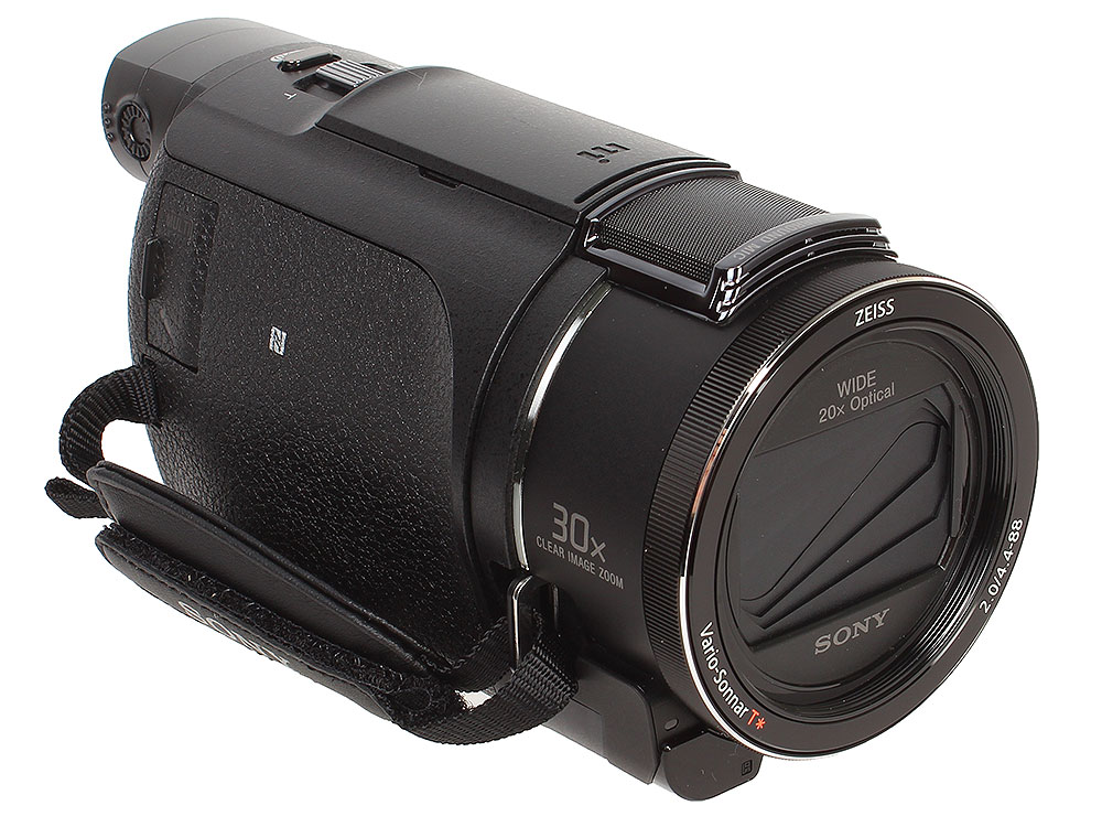 Фото - Видеокамера Sony FDR-AX53B 4K, 50p, 8,3Mp, Exmor R CMOS, CarlZeiss VS, 20x/250x Zoom, 3.0. Wi-Fi/NFC [FDRAX53B.CEE] видеокамера sony hdr cx405b black 30x zoom 9 2mp cmos 2 7 os avchd mp4 [hdrcx405b cel]