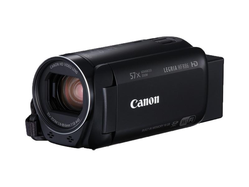 Видеокамера Canon LEGRIA HF R86 Black цена 2017