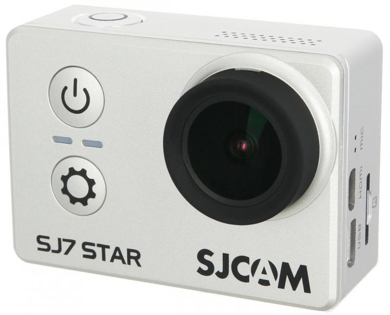 Экшн-камера SJCam SJ7 Star серебристый экшн камера sjcam sj4000 wi fi gold