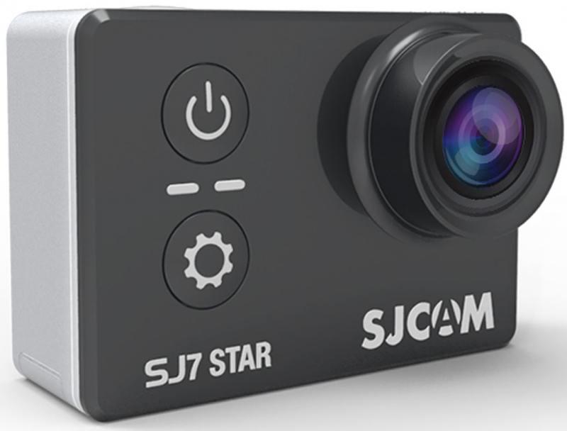 Экшн-камера SJCam SJ7 Star черный denn dac211 экшн камера