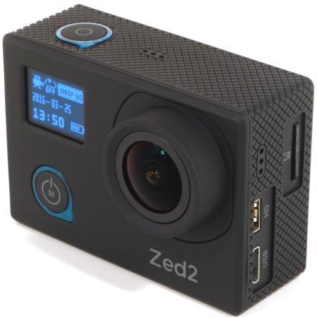 Экшн-камера AC Robin ZED2 1xExmor R CMOS 12Mpix черный шкаф купе баронс групп риф 2 зеркало вариант 3 250x90х60