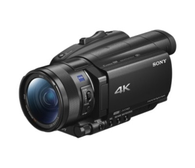 Видеокамера Sony FDR-AX700EB (FDRAX700B.CEE) 4K HDR, 50p, 14.2Mp, Exmor RS CMOS, CarlZeiss VS, 12x Zoom, 3.5. Wi-Fi/NFC, Manual Ring видеокамера zoom q2n