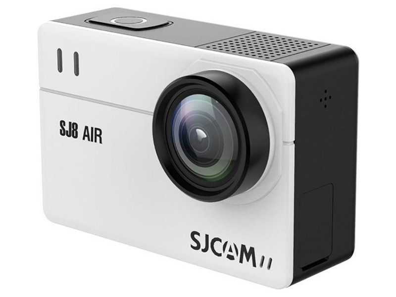 Экшн камера SJCAM SJ8 Air, белая 4k 60hz uhd hdmi 2 0 audio extractor switch hdr hdmi 3x1 converter with ir spdif l r output support ac3 3d arc for ps4 xbox dvd