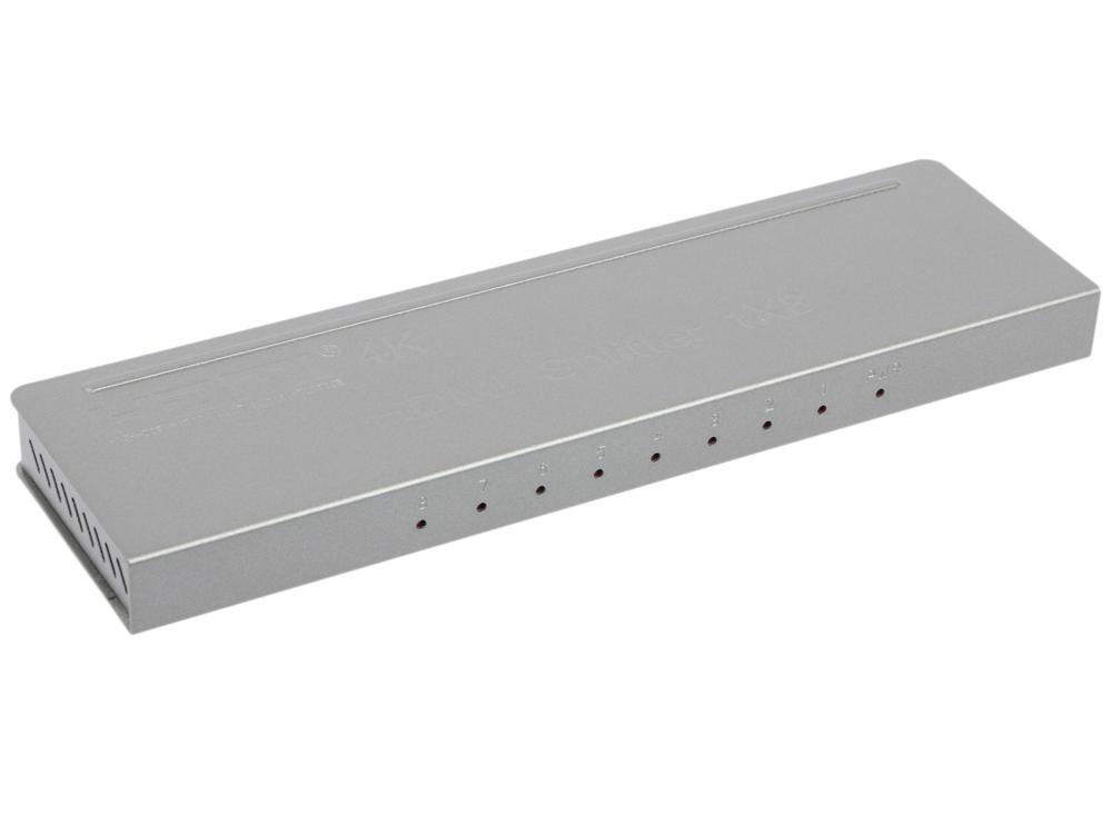 Разветвитель Orient HSP0108H-mini, HDMI 4K Splitter 1-8, HDMI 1.4/3D, UHDTV 4K(3840x2160)/HDTV1080p/1080i/720p, HDCP1.2, внешний БП 5В/1.5A, метал.кор мини пк voyo windows 8 1 intel z3735f 2 64 hdmi 4k mini pc