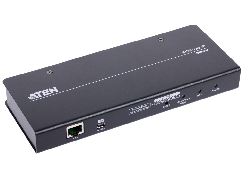 KVM-переключатель ATEN CN8000A-AT-G PS2 USB 1PORT IP VGA цена