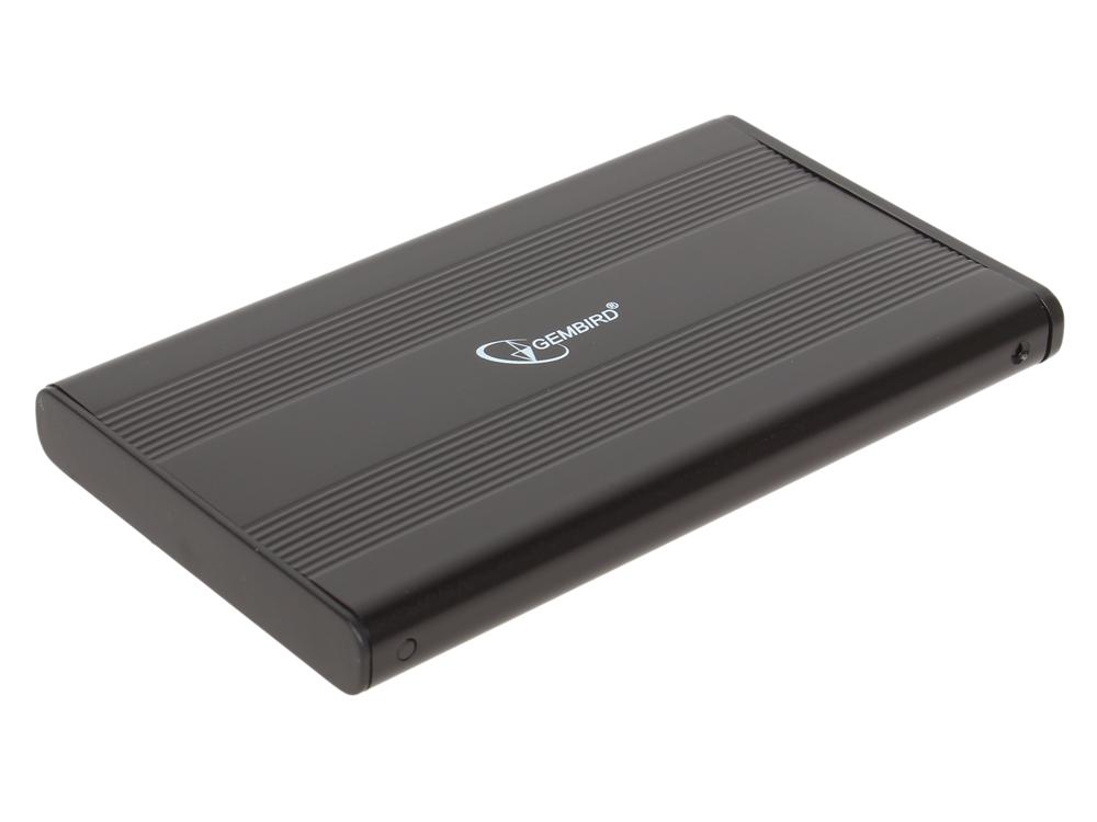 все цены на Внешний бокс HDD/SSD 2.5 Gembird EE2-U3S-5 Корпус Black / Алюминий / USB 3.0 / USB 3.1 Gen 1 / SATA