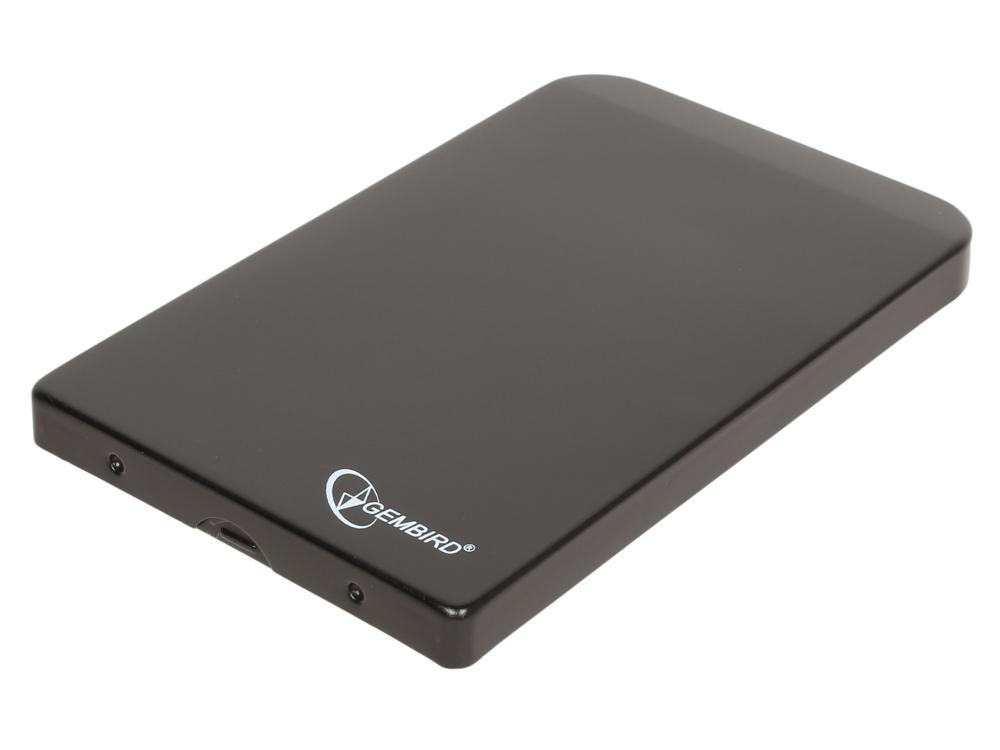 все цены на Внешний бокс HDD/SSD 2.5 Gembird EE2-U3S-41 Корпус Black / Алюминий / USB 3.0 / USB 3.1 Gen 1 / SATA