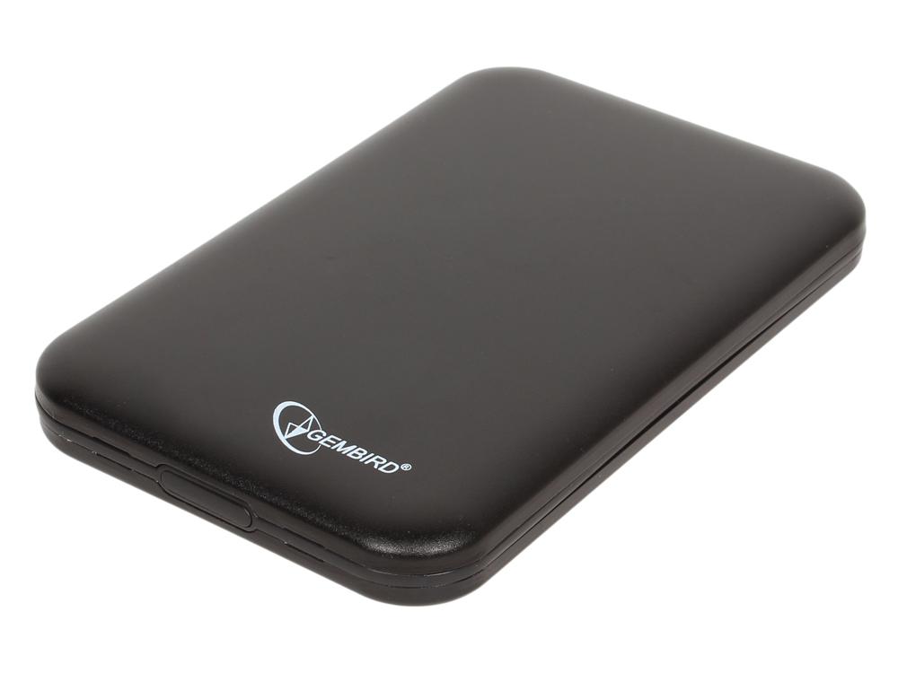 """Внешний корпус 2.5"""" Gembird EE2-U2S-43, черный, USB 2.0, SATA, металл"""