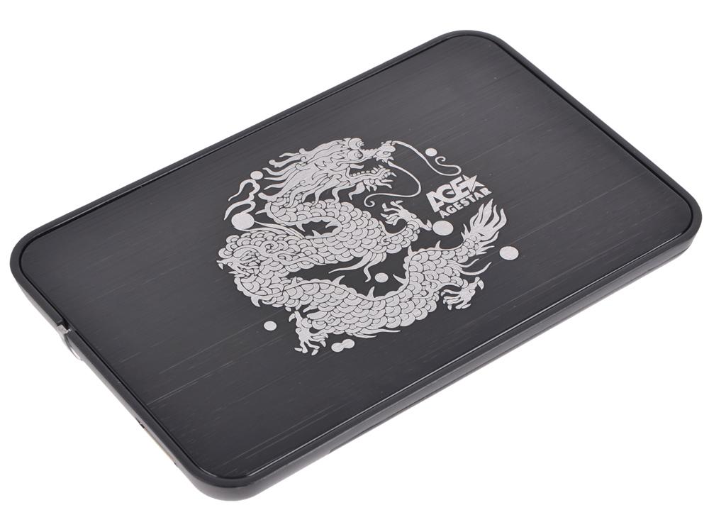 Внешний бокс HDD/SSD 2.5 AgeStar 3UB2A8 (BLACK) Корпус Black / Пластик/Сталь / microUSB 3.0 / SATA цена и фото
