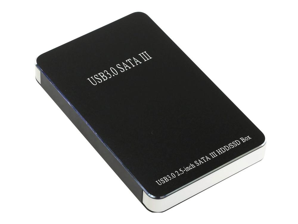 Мобил рек USB3.0 Orient 2567 U3, для 2.5 HDD SATA, алюм.+пластик, черный мобил рек agestar sub2o1 red usb2 0 to 2 5hdd sata алюминий