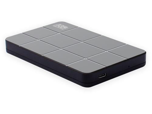 Внешний контейнер для HDD/SSD 2.5 SATAIII AgeStar 3UB2P1C пластик, чёрный, кабель USB3.0 A-type-С внешний контейнер для hdd 2 5 sata agestar 31ubcp3 usb3 1 пластик белый