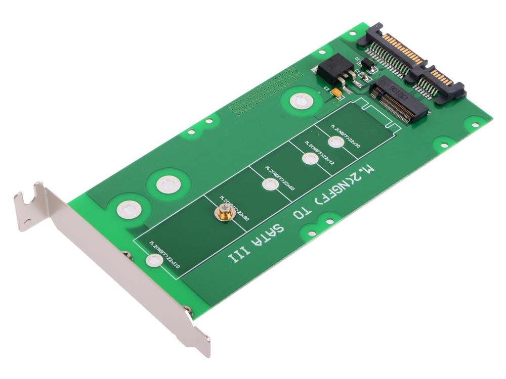 Переходники SSD Espada SATA III to M.2(NGFF) SSD w/bracket , M2S905B rq x7 2 5 sata iii ssd black grey 256gb