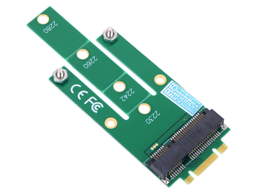 Переходник SSD NGFF(M.2) - mSATA, для подключения mSATA диска к разъему NGFF, ORIENT C293S внутренний ssd накопитель 500gb samsung 860 evo mz m6e500bw msata