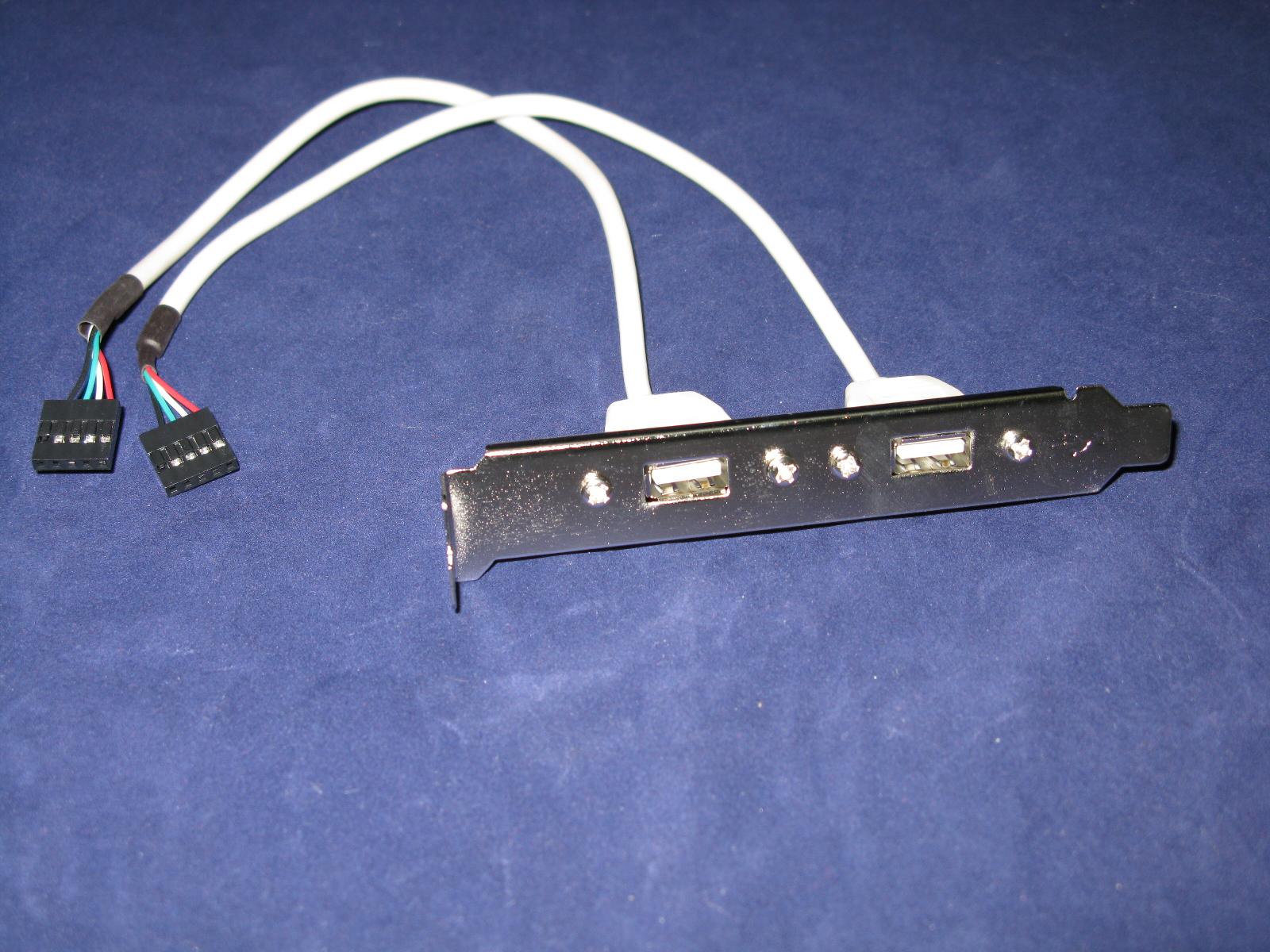 Планка в корпус USB2.0 -2 порта Espada EBRCT-2PrtUSB2 (10pin/9pin to usb2.0 переходник) цена и фото