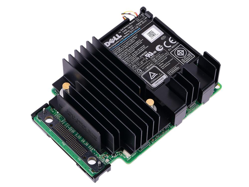 Контроллер Dell PERC H730p Controller (RAID 0-60), 2GB Non-Volatile Cache, Mini-Type, 12Gb/s (SAS3.0), SAS/SATA/SSD HDD support, 405-AAEK raid controller for 46m0916 m5014 sas sata pcie 256mb