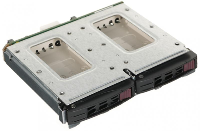 лучшая цена Корзина для жестких дисков Supermicro MCP-220-84606-0N для установки дисков 2*2,5
