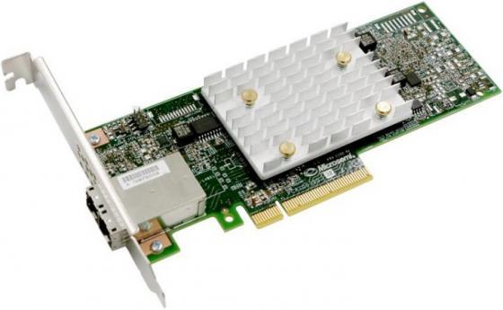 Фото - Контроллер Microsemi Adaptec HBA 1100-8e Single,8 external ports,PCIe Gen3,x8 контроллер hpe h240 smart hba