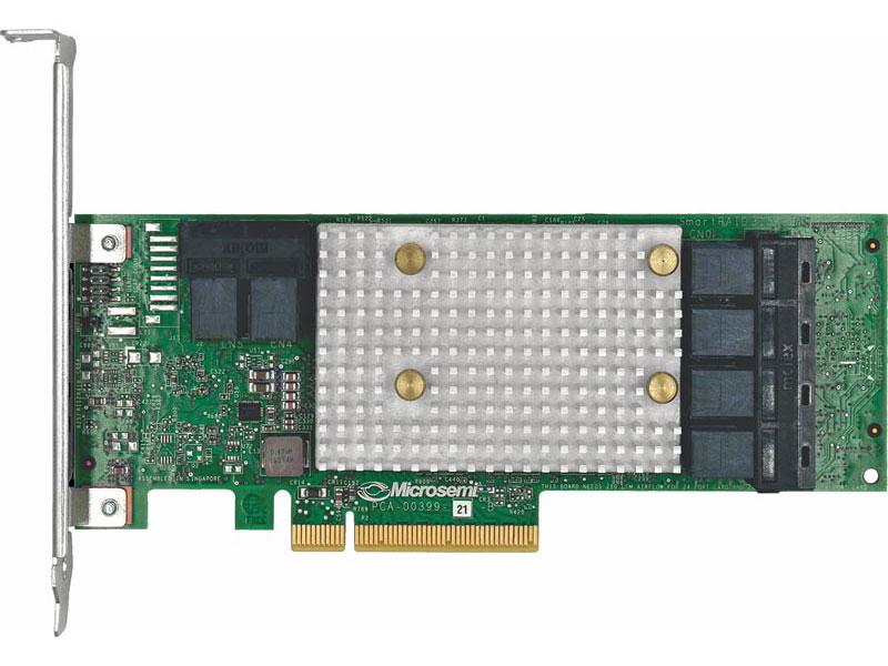 цена на HBA-адаптер Microsemi Adaptec HBA 1100-24i Single,24 internal ports,PCIe Gen3,x8