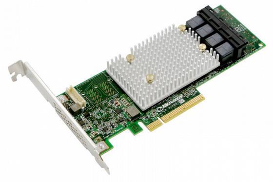 лучшая цена Контроллер Microsemi Adaptec HBA 1100-16i Single, 16 internal ports,PCIe Gen3,x8,,,,FlexConfig