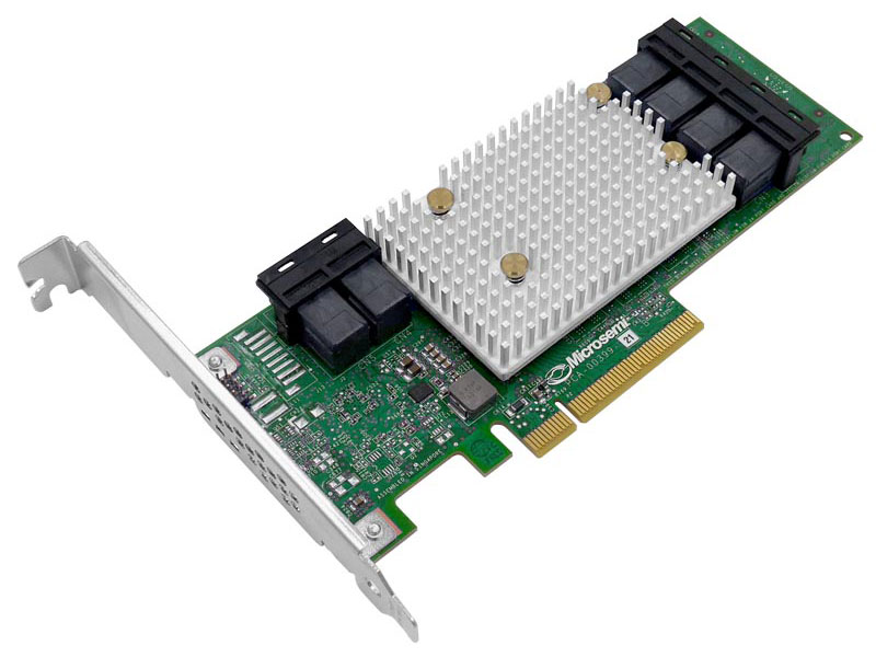лучшая цена Контроллер SAS Adaptec SmartHBA 2100-24i SGL (2301600-R)
