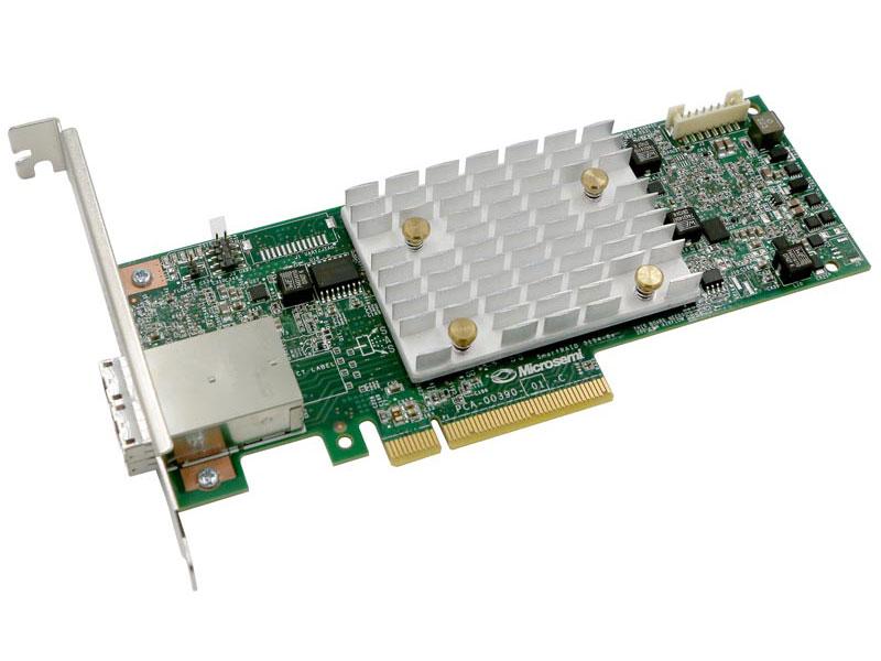 Контроллер Microsemi Adaptec SmartRAID 3154-8e Single,8 external ports,PCIe Gen3 ,x8,4 GB DDR4,RAID 0/1/10,RAID microsemi adaptec smartraid 3154 8i single 8 internal port pcie gen3 x8 4 gb ddr4 raid 0 1 10 raid 5 6 50 60 flexconfig maxcache 4 0