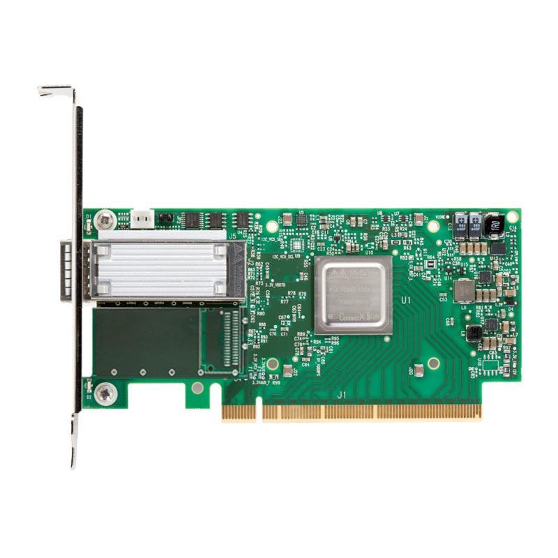 Сетевая карта Mellanox ConnectX-5 EN MCX515A-CCAT 100GbE single-port QSFP28, PCIe3.0 x16, tall bracket, ROHS R6