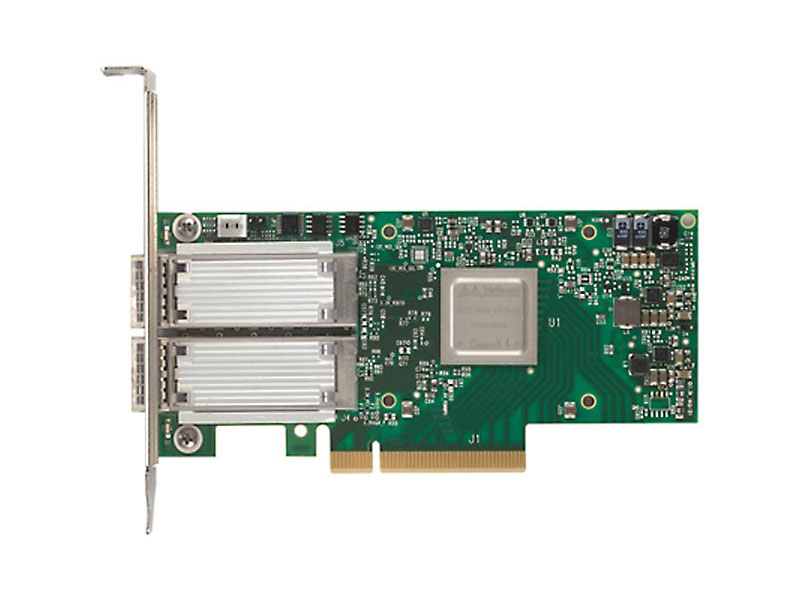 Сетевая карта ConnectX-4 VPI adapter card FDR IB 40/56GbE,dual-port QSFP28, PCIe3.0 x8